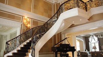 luxury ornamental iron work - Hinsdale illinois