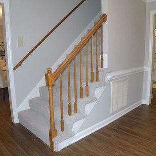 Vinyl Staircase Ideas Photos Houzz, Vinyl Laminate Flooring On Stairs