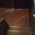 New Traditional Family Residence Traditional Staircase