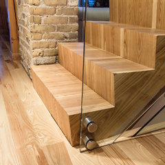 modern staircase by Wood Anchor