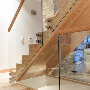 Gl And Wood Railings Houzz