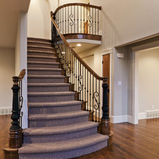 Traditional Staircase by Element Homes