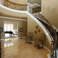 Traditional Staircase by m.a.p. interiors inc. / Sylvia Beez