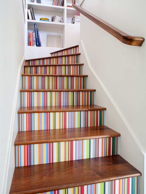 Decorating Stair Risers Ideas Pictures Remodel And Decor