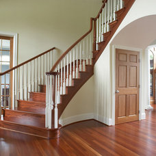 Traditional Staircase by M.J. Whelan Construction