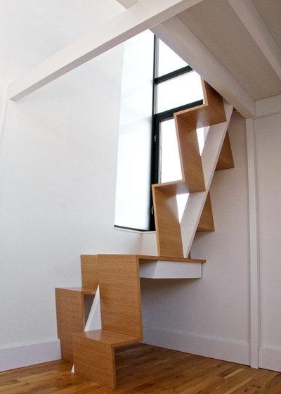 Moderne Escalier by nC2 architecture llc