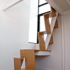 Modern Staircase by nC2 architecture llc