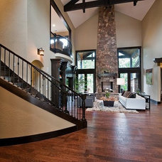 Traditional Staircase by simpleFLOORS Seattle