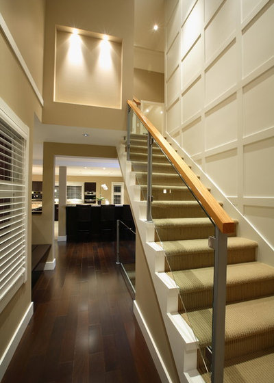 Transitional Staircase by Synthesis Design Inc.