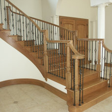 Traditional Staircase by Slabaugh Custom Stairs, Ltd