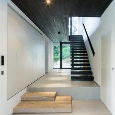 Contemporary Staircase by Assen Emilov Photography