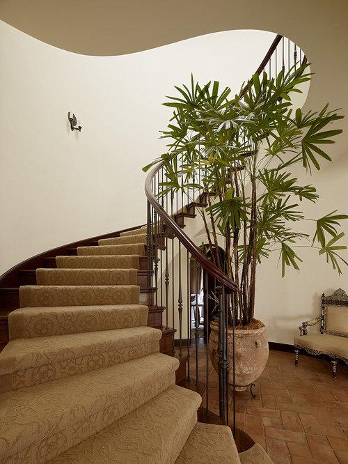 Mediterranean Staircase Idea In San Francisco