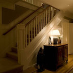 Craftsman New Home Traditional Staircase San