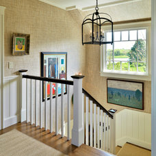 Beach Style Staircase by Anthony Catalfano Interiors Inc.