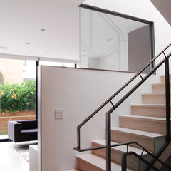 modern staircase by MAK Studio