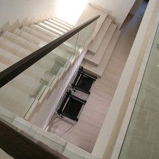 Mediterranean Staircase by Amy Noel Design