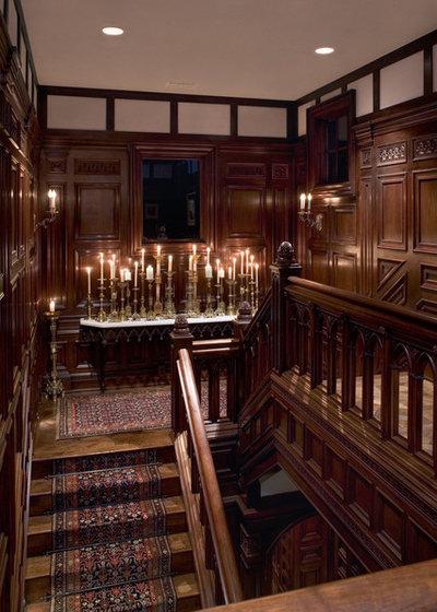 ヴィクトリアン 階段 by Cravotta Interiors