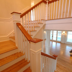 traditional staircase by Birdseye Design