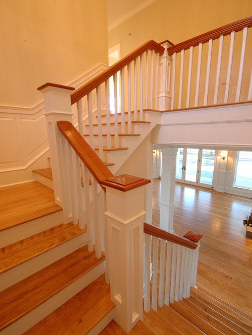 Moulding Up The Stairway Houzz