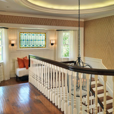 Traditional Staircase by Carpenter & MacNeille