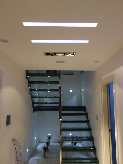 Canned Ceiling Lights Basement Stairs: Basement Stair Lighting