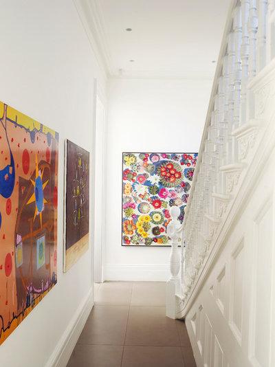 Contemporary Staircase by Smart Design Studio