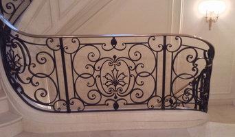 Manhatan wrought iron railings
