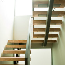 Modern Staircase by See Construction