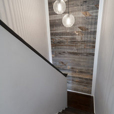 Contemporary Staircase by Ecostruct LLC