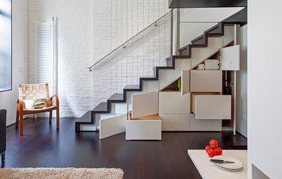 Ideas para añadir espacio de almacenaje en un piso pequeño