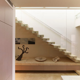 This is an example of a contemporary straight staircase in Sydney.