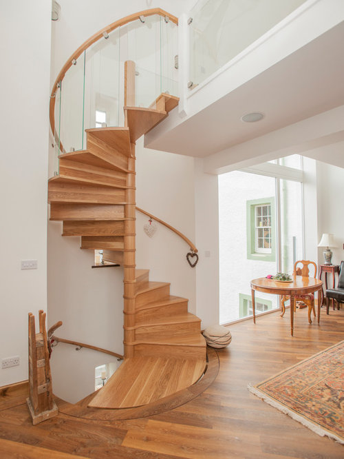 Space Saving Spiral Staircase Houzz