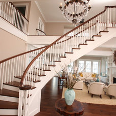 Traditional Staircase by Signature Design & Cabinetry LLC