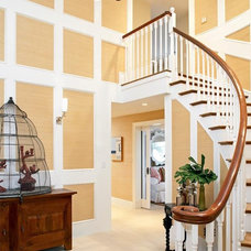 Beach Style Staircase by Terrat Elms Interior Design