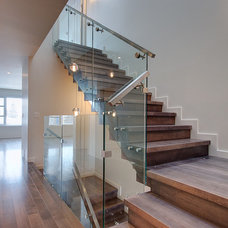 Contemporary Staircase by Endeavour Developments