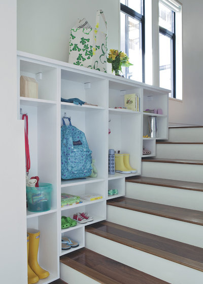 Contemporary Staircase by California Closets of Tennessee