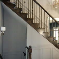 Traditional Staircase by Designing Interiors Inc