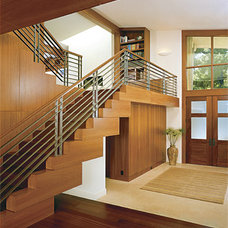 contemporary staircase by Sutton Suzuki Architects