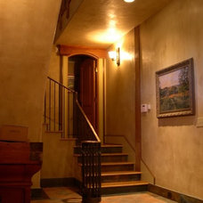 Traditional Staircase by Mark Downing