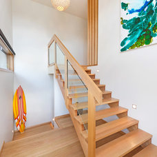 Modern Staircase by Matthew Mallett Photography