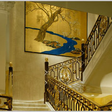 Traditional Staircase by MARK MORRIS DESIGN GROUP