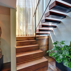 Asian Staircase by Tracie Butler Interior Design