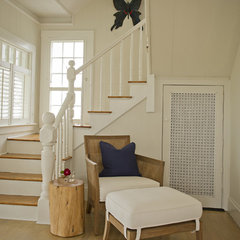 traditional staircase by Schranghamer Design Group