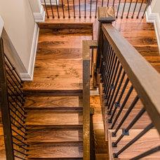 Contemporary Staircase by Urban Rustic Living
