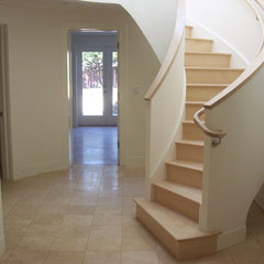 modern staircase by Mascheroni Construction