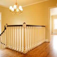 Traditional Staircase by Mascheroni Construction