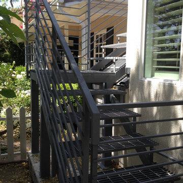 Mason Exterior Staircase