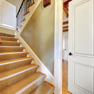 Example of a classic staircase design in Tampa
