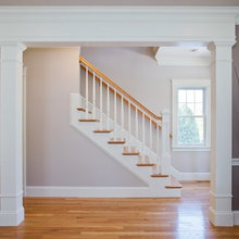 Stairs with Round Balusters