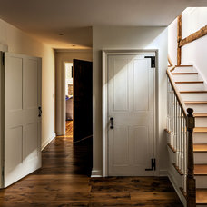 Farmhouse Staircase by Crisp Architects